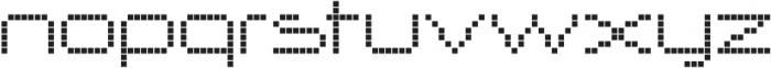 Nerdropol Lattice otf (400) Font LOWERCASE