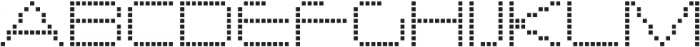 Nerdropol Network otf (400) Font UPPERCASE