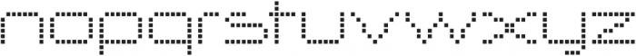 Nerdropol Network otf (400) Font LOWERCASE
