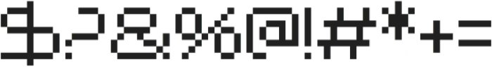 Nerdropol Regular otf (400) Font OTHER CHARS
