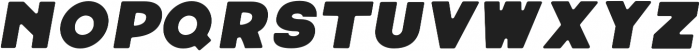 Neretto Sans Oblique Round otf (400) Font LOWERCASE