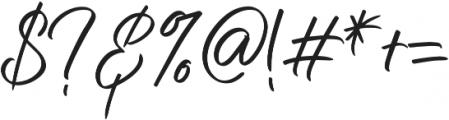 Nermola Script ttf (400) Font OTHER CHARS