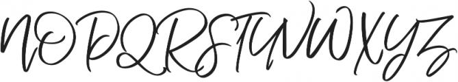Nermola Script ttf (400) Font UPPERCASE