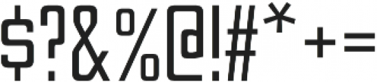 Nesobrite Condensed otf (400) Font OTHER CHARS