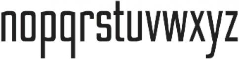 Nesobrite Condensed otf (400) Font LOWERCASE