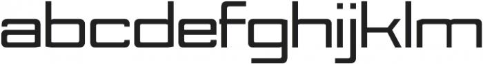 Nesobrite Expanded Black otf (900) Font LOWERCASE