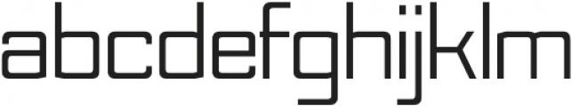 Nesobrite Regular otf (400) Font LOWERCASE