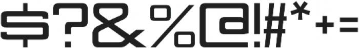 Nesobrite Semi-Expanded Black otf (900) Font OTHER CHARS