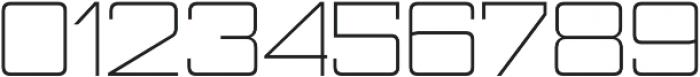 Nesobrite Semi-Expanded Light otf (300) Font OTHER CHARS