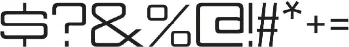 Nesobrite Semi-Expanded otf (400) Font OTHER CHARS