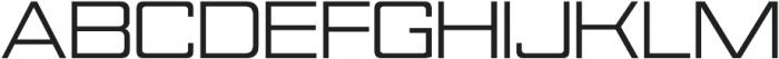 Nesobrite Semi-Expanded otf (400) Font UPPERCASE