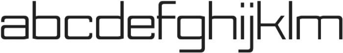 Nesobrite Semi-Expanded otf (400) Font LOWERCASE