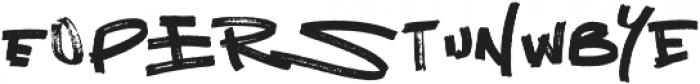 NetworkCalt otf (400) Font LOWERCASE