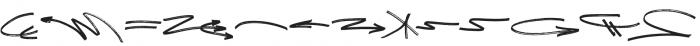 NetworkSwash otf (400) Font UPPERCASE
