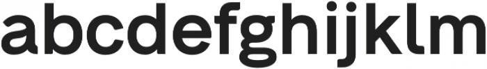 Neue Alte Grotesk SemiBold otf (600) Font LOWERCASE