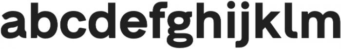 Neue Alte Grotesk otf (700) Font LOWERCASE