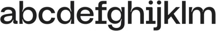 Neue Augenblick Semi Bold ttf (600) Font LOWERCASE