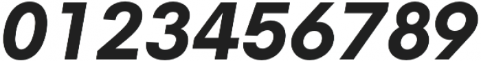 Neue Hans Kendrick ExtraBold Italic otf (700) Font OTHER CHARS