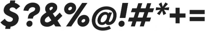 Neue Hans Kendrick Heavy Italic otf (800) Font OTHER CHARS