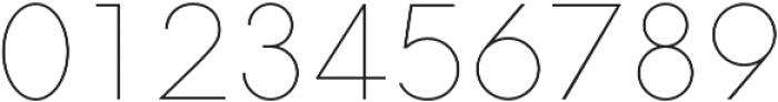 Neue Hans Kendrick Thin otf (100) Font OTHER CHARS