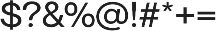 Neue June Roman otf (400) Font OTHER CHARS