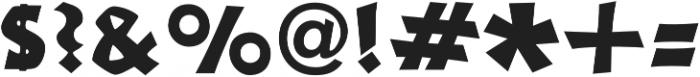 Neuerland Medium otf (500) Font OTHER CHARS