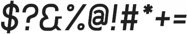 Neuesanstara Demi Bold Oblique otf (600) Font OTHER CHARS
