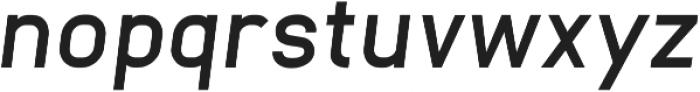 Neuesanstara Demi Bold Oblique otf (600) Font LOWERCASE