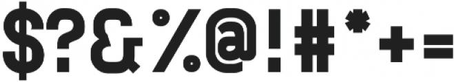 Neuesanstara Extra Bold otf (700) Font OTHER CHARS