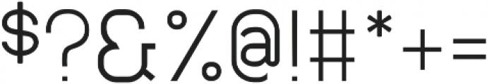 Neuesanstara Light otf (300) Font OTHER CHARS