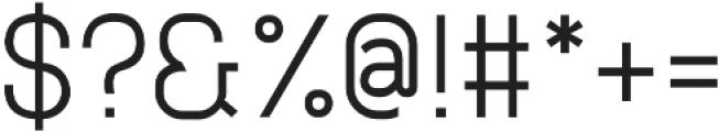 Neuesanstara Regular otf (400) Font OTHER CHARS