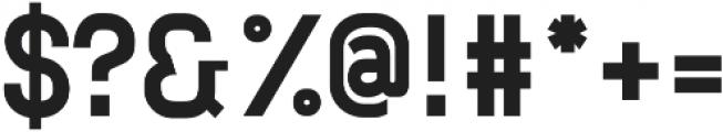 Neuesanstara otf (700) Font OTHER CHARS
