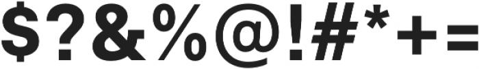 Neufile Grotesk Bold otf (700) Font OTHER CHARS