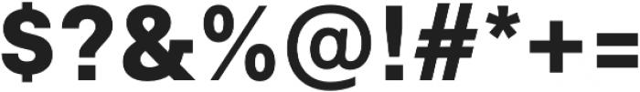 Neufile Grotesk ExtraBold otf (700) Font OTHER CHARS