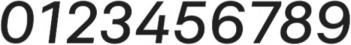 Neufile Grotesk Medium Extended Italic otf (500) Font OTHER CHARS