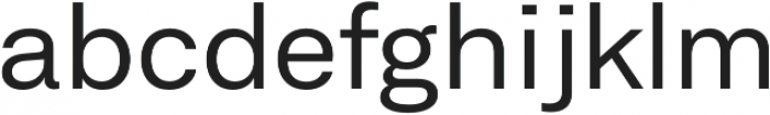 Neufile Grotesk Regular Extended otf (400) Font LOWERCASE