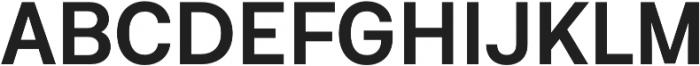 Neufile Grotesk SemiBold otf (600) Font UPPERCASE