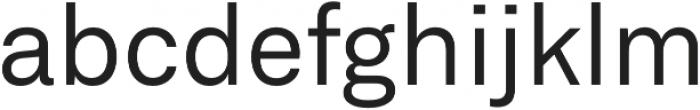 Neufile Grotesk otf (400) Font LOWERCASE