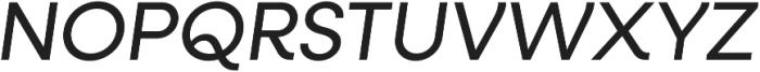 Neulis Alt Italic otf (400) Font UPPERCASE