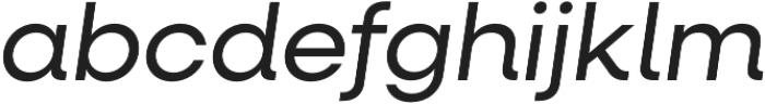 Neulis Alt Italic otf (400) Font LOWERCASE