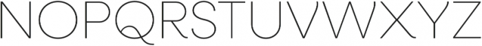 Neulis Alt Thin otf (100) Font UPPERCASE