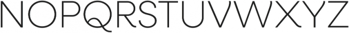 Neulis ExtraLight otf (200) Font UPPERCASE
