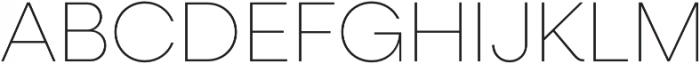 Neulis Thin otf (100) Font UPPERCASE