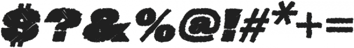 Neultica 4F Dirty Black Italic otf (900) Font OTHER CHARS