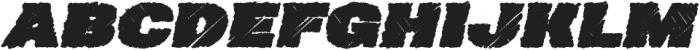 Neultica 4F Dirty Black Italic otf (900) Font UPPERCASE