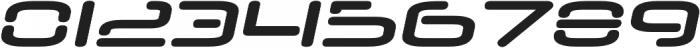 Neuropol Nova Expanded Bold Italic otf (700) Font OTHER CHARS