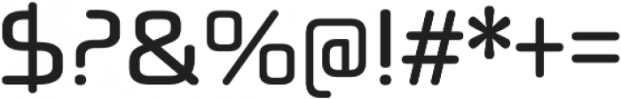 Neuropol X Condensed Regular otf (400) Font OTHER CHARS