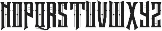 Neurotic otf (400) Font UPPERCASE
