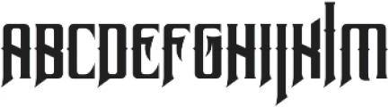 Neurotic otf (400) Font LOWERCASE