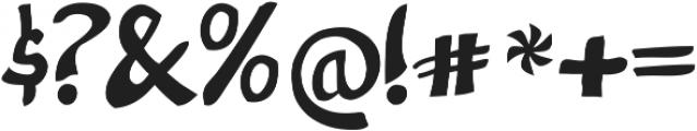 Nevatu ttf (400) Font OTHER CHARS